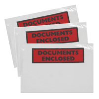 Document Enclosed A6 Self Adhesive Wallets